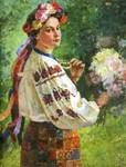 "Василь Хвостенко ""Українка"" 1957 р."