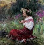 """Ганна Виноградова """"Ворожіння на вугіллі"""""""